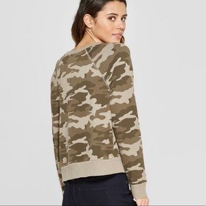 Universal Thread Tops - Camo Sweatshirt